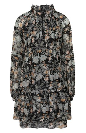 Женское мини-платье POUSTOVIT черного цвета, арт. ss20P-1205-30 | Фото 1