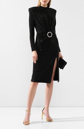 Женское платье PHILIPP PLEIN черного цвета, арт. S20C WRG1430 PTE003N | Фото 2