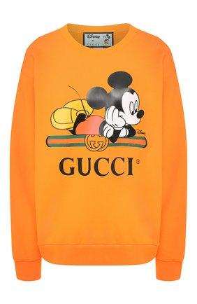 Хлопковый свитшот Disney x Gucci | Фото №1