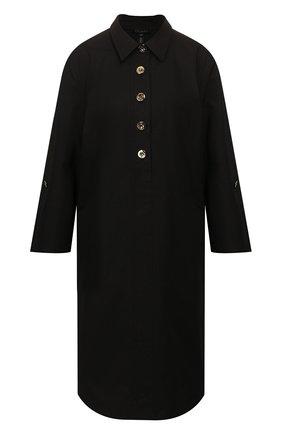 Женское хлопковое платье ESCADA черного цвета, арт. 5033013 | Фото 1