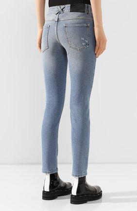 Женские джинсы GIVENCHY голубого цвета, арт. BW50FY50DK | Фото 4