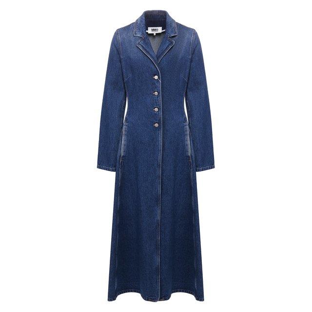 Джинсовое пальто Mm6