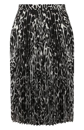 Женская юбка BURBERRY леопардового цвета, арт. 8025228 | Фото 1