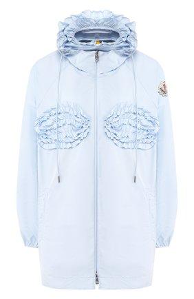 Женская куртка 4 moncler simone rocha MONCLER GENIUS голубого цвета, арт. F1-09W-1A700-00-C0505 | Фото 1