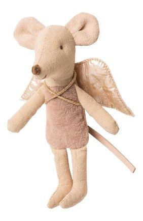 Детского игрушка мышка фея MAILEG темно-розового цвета, арт. 16-9725-00 | Фото 1