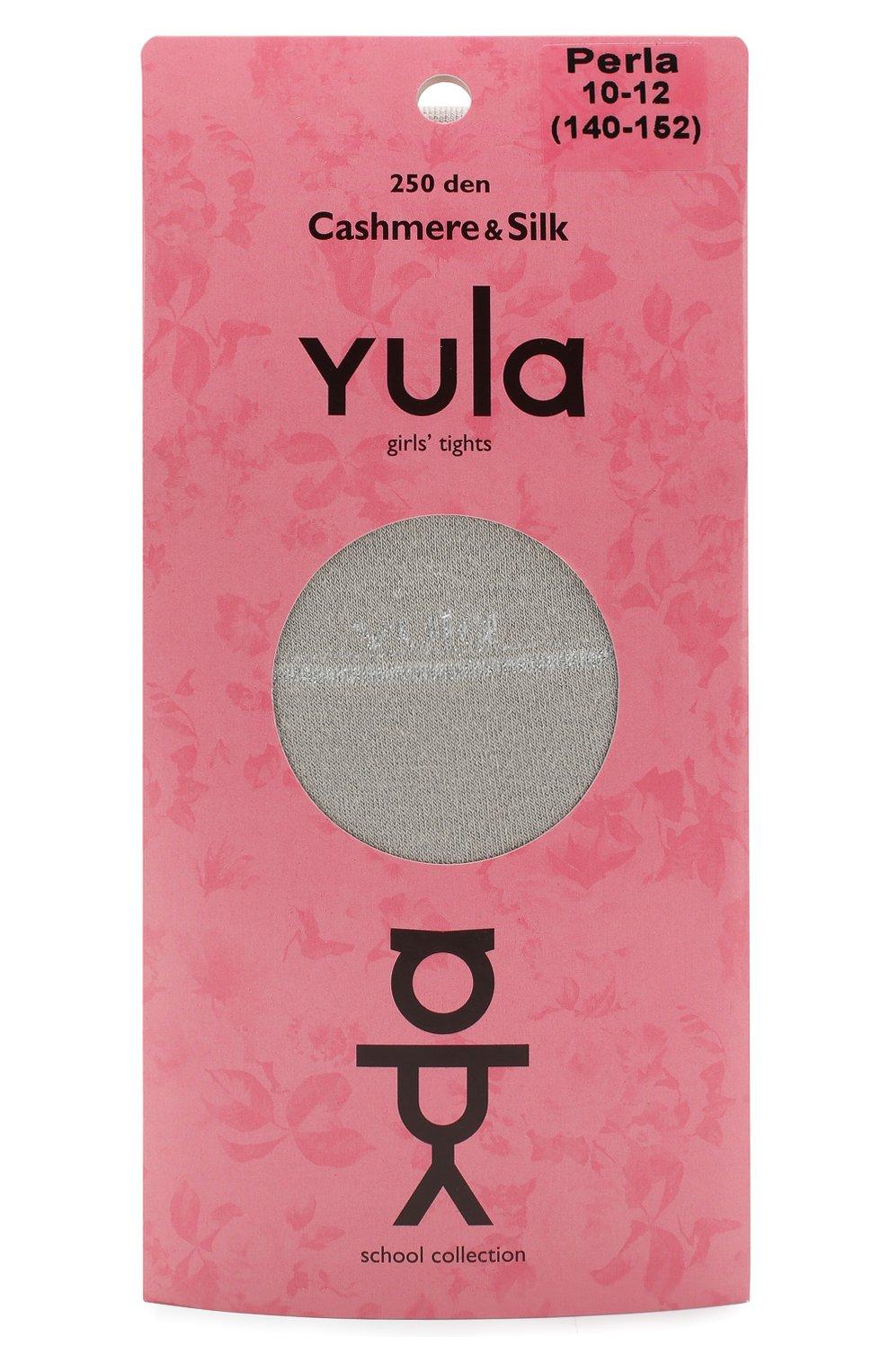 Детские колготки cashmere silk 250 den YULA бежевого цвета, арт. YU-206 | Фото 1