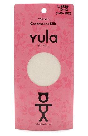 Детские колготки cashmere silk 250 den YULA бежевого цвета, арт. YU-200 | Фото 1