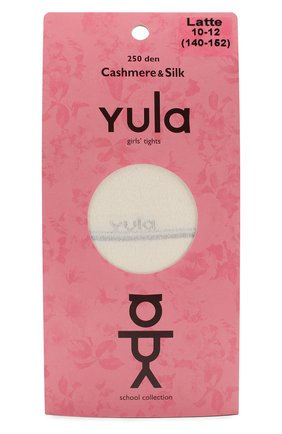 Детские колготки cashmere silk 250 den YULA бежевого цвета, арт. YU-204 | Фото 1