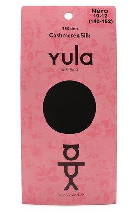Детские колготки cashmere silk 250 den YULA черного цвета, арт. YU-203 | Фото 1
