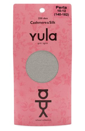 Детские колготки cashmere silk 250 den YULA бежевого цвета, арт. YU-202 | Фото 1
