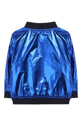 Детского двусторонняя куртка MARC JACOBS (THE) разноцветного цвета, арт. W06057 | Фото 2
