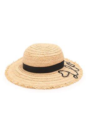 Детская шляпа IL TRENINO бежевого цвета, арт. 20 7281/E0 | Фото 2