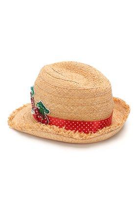 Детская шляпа IL TRENINO бежевого цвета, арт. 20 7283/E0 | Фото 2