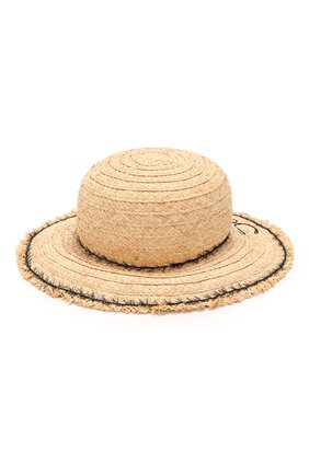 Детская шляпа IL TRENINO бежевого цвета, арт. 20 7285/E0 | Фото 2