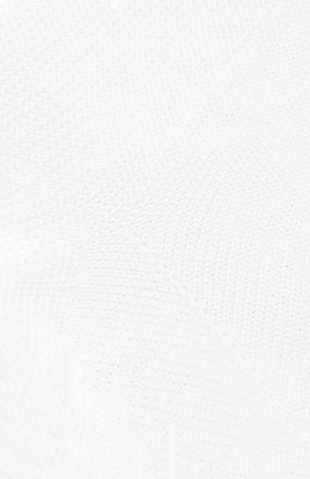 Детские хлопковые носки LA PERLA белого цвета, арт. 43455/29-32   Фото 2
