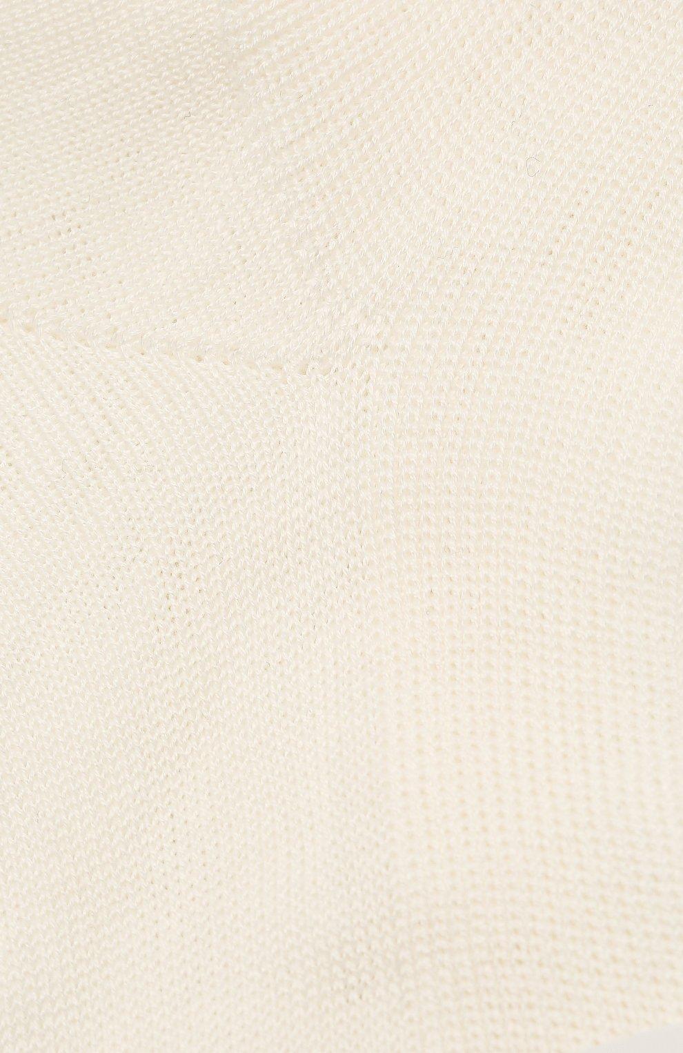 Детские хлопковые носки LA PERLA бежевого цвета, арт. 43455/17-22 | Фото 2