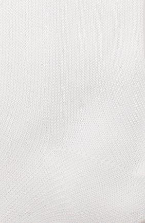 Детские хлопковые носки LA PERLA белого цвета, арт. 43455/17-22 | Фото 2