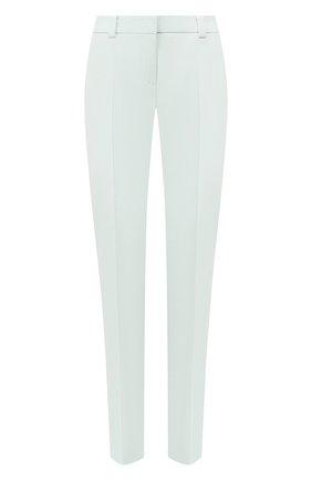 Женские шерстяные брюки WINDSOR бирюзового цвета, арт. 52 DHE707T 10009012 | Фото 1