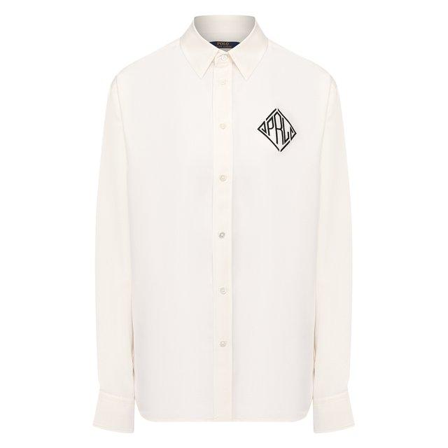 Шелковая рубашка Polo Ralph Lauren