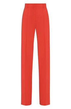 Женские брюки из вискозы LESYANEBO красного цвета, арт. SS20/H-157   Фото 1