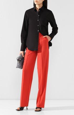 Женские брюки из вискозы LESYANEBO красного цвета, арт. SS20/H-157   Фото 2