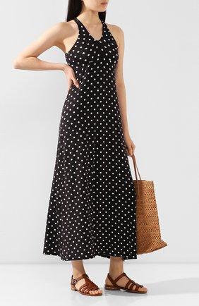 Женское платье из вискозы ANTIGEL черно-белого цвета, арт. ESA1122 | Фото 2