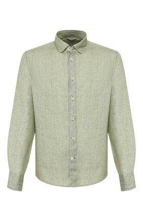 Мужская льняная рубашка VAN LAACK зеленого цвета, арт. LAD0N1-TFW/155967   Фото 1