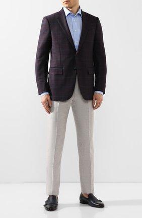 Мужская хлопковая сорочка ETON голубого цвета, арт. 1000 01192 | Фото 2