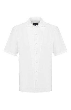 Мужская льняная рубашка ETON белого цвета, арт. 1000 00865   Фото 1