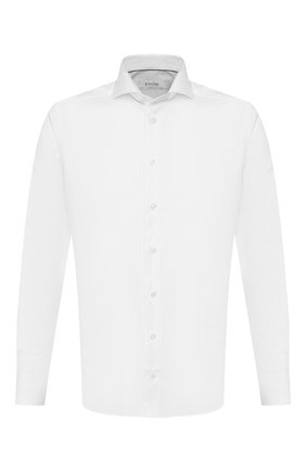 Мужская хлопковая сорочка ETON белого цвета, арт. 1000 00871 | Фото 1