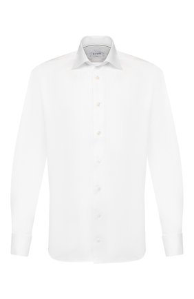 Мужская хлопковая сорочка ETON белого цвета, арт. 1000 00994 | Фото 1