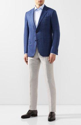 Мужская хлопковая сорочка ETON голубого цвета, арт. 1000 00994 | Фото 2