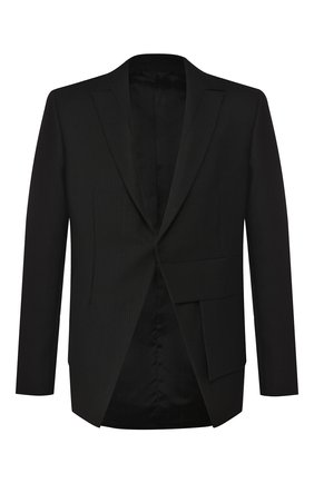 Мужской шерстяной пиджак 1017 ALYX 9SM черного цвета, арт. AAMTA0016FA01   Фото 1