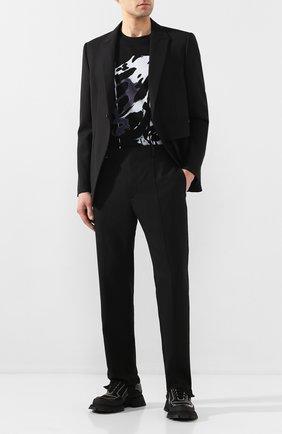 Мужской шерстяной пиджак 1017 ALYX 9SM черного цвета, арт. AAMTA0016FA01   Фото 2