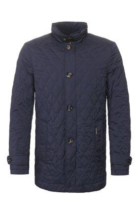 Мужская утепленная куртка dionisio-s31 MOORER синего цвета, арт. DI0NISI0-S31/P20M020REFL | Фото 1