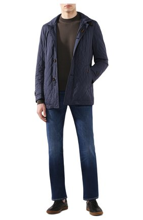 Мужская утепленная куртка dionisio-s31 MOORER синего цвета, арт. DI0NISI0-S31/P20M020REFL | Фото 2