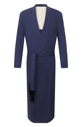 Мужской шерстяное пальто TRIPLE RRR синего цвета, арт. SS20 V019 3014 | Фото 1
