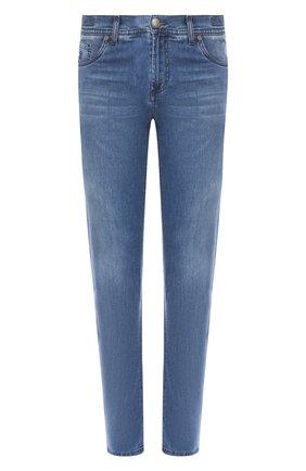 Мужские джинсы ANDREA CAMPAGNA голубого цвета, арт. R0MA R/T94.W230   Фото 1