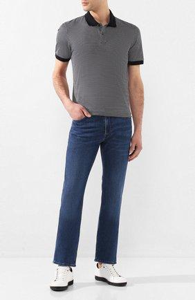 Мужские джинсы BOSS синего цвета, арт. 50426477   Фото 2