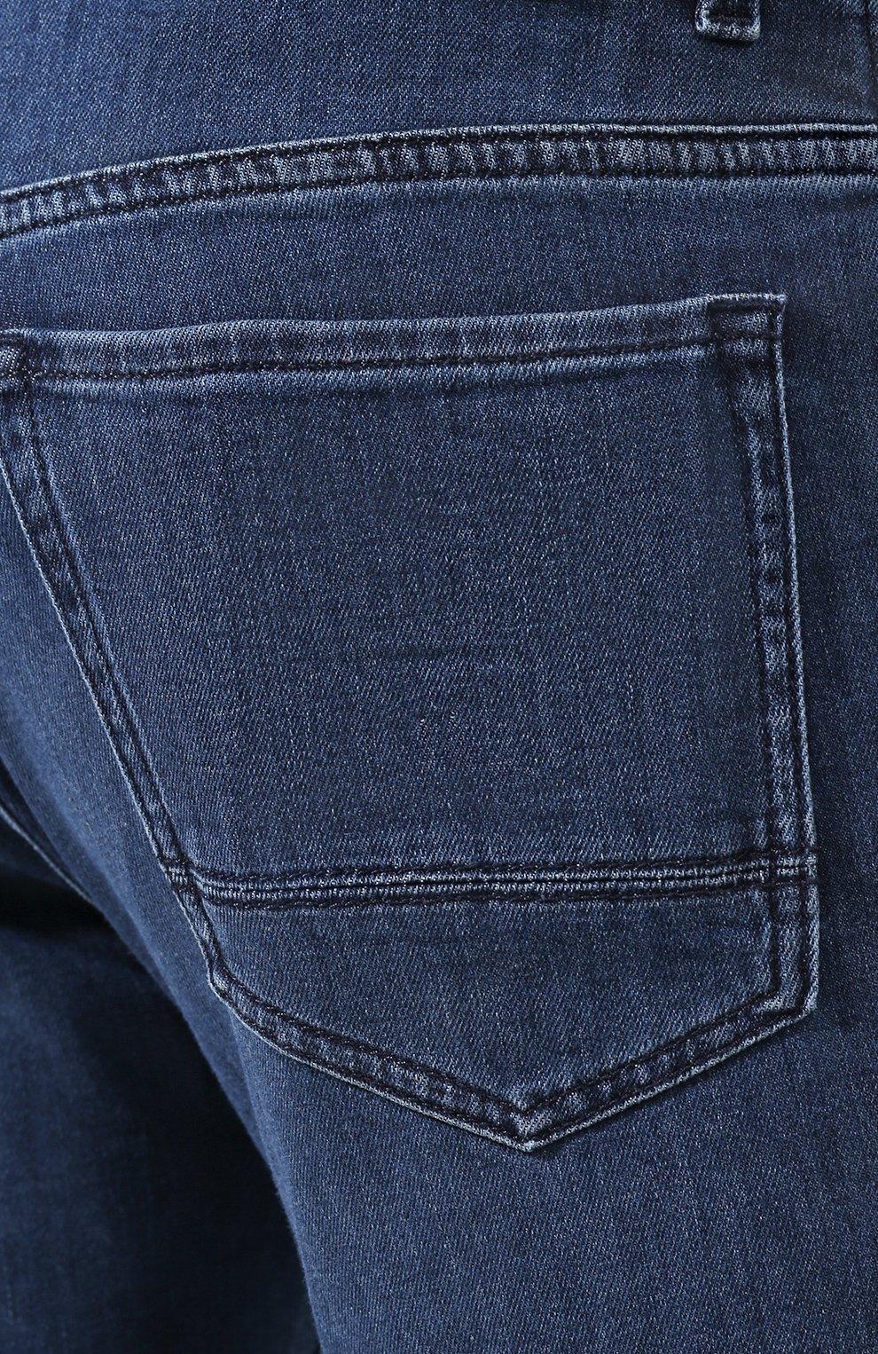 Мужские джинсы BOSS синего цвета, арт. 50426477   Фото 5