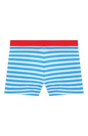 Детские плавки-шорты MARC JACOBS (THE) голубого цвета, арт. W20057 | Фото 2 (Материал внешний: Синтетический материал; Кросс-КТ: Пляж; Ростовка одежда: 3 года | 98 см, 4 года | 104 см, 5 лет | 110 см, 6 лет | 116 см)