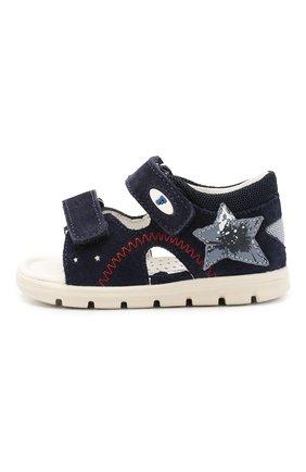 Детские кожаные сандалии FALCOTTO синего цвета, арт. 0011500837/42 | Фото 2