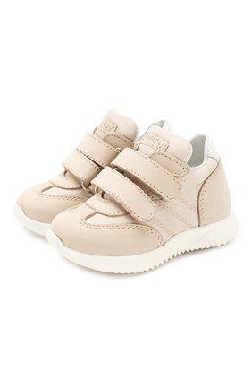 Детские кроссовки WALKEY бежевого цвета, арт. Y1B4-40643-0168/19-24 | Фото 1