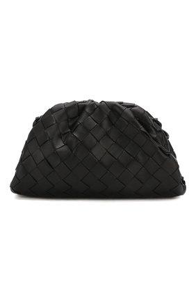 Женский клатч pouch 20 BOTTEGA VENETA черного цвета, арт. 585852/VCPP1 | Фото 1