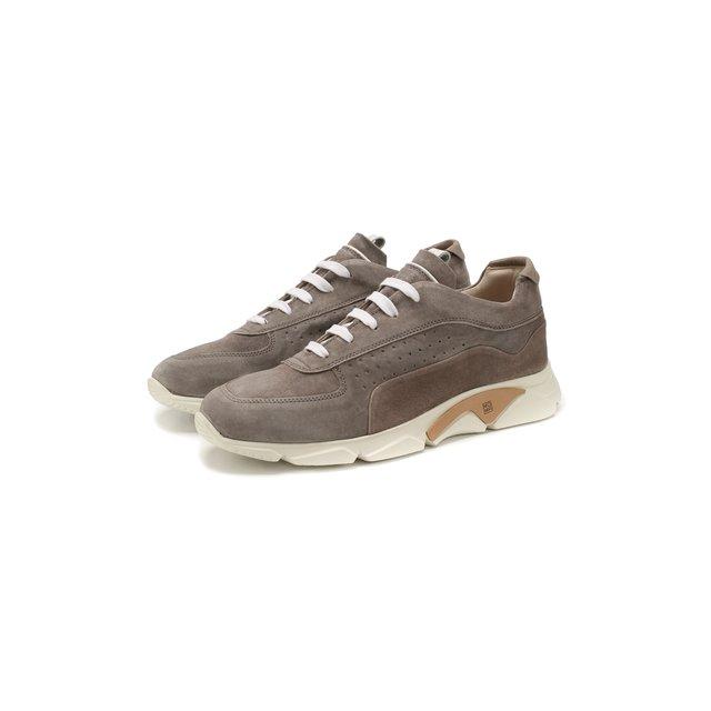 Замшевые кроссовки Moma — Замшевые кроссовки