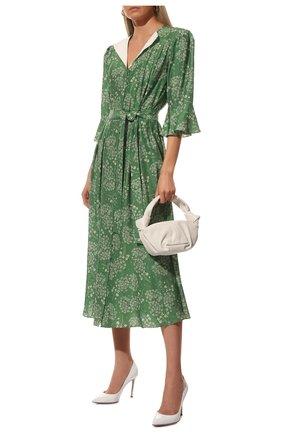 Женская кожаные туфли gianvito 105 GIANVITO ROSSI белого цвета, арт. G28470.15RIC.VERBIAN | Фото 2