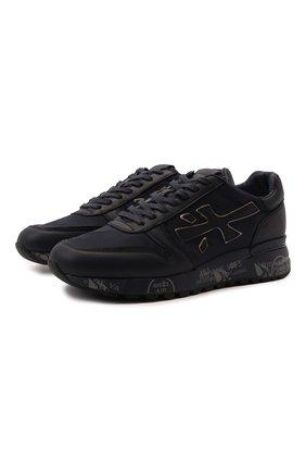 Мужские комбинированные кроссовки mick PREMIATA темно-синего цвета, арт. MICK/VAR3833 | Фото 1