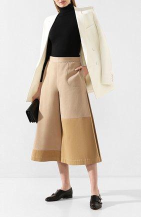 Женские кожаные монки SANTONI черного цвета, арт. WUSM58694BI3TUNSN01 | Фото 2