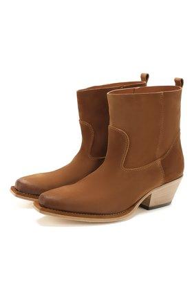 Женские кожаные сапоги VIC MATIE коричневого цвета, арт. 1X8452D.X16X050321 | Фото 1