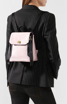 Женский рюкзак id GIVENCHY розового цвета, арт. BB50BRB0S5 | Фото 2